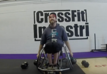 WHEELWOD OPEN SEATED 18.4